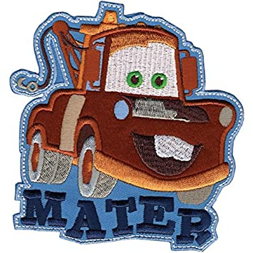 Wrights 111305 Disney Cars Mater Iron-On Applique