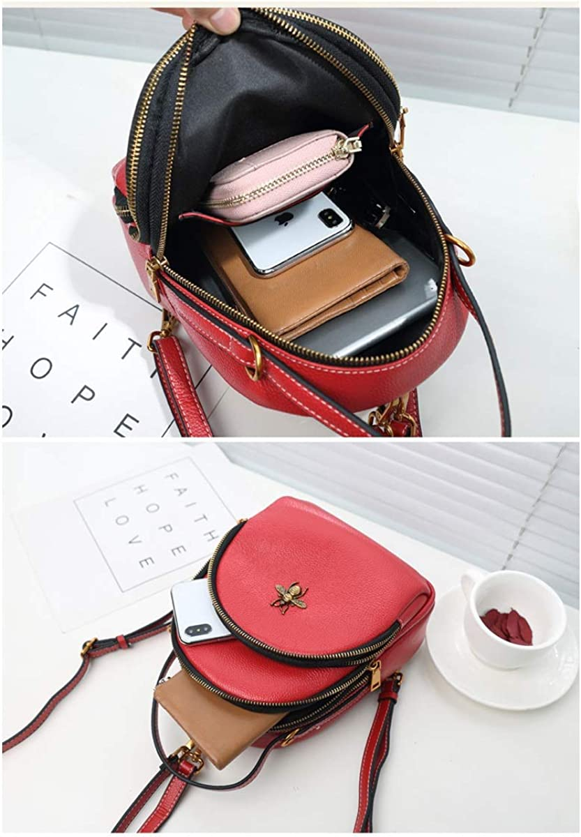 Mini Fashion Cowhide for Women /& Men ZHICHUANG Girls Multipurpose Backpack for Everyday Travel//Outdoor//Travel//School//Work//Fashion//Leisure Black//red//Green
