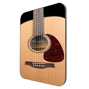 Tocar Guitarra acústica Mousepad: Amazon.es: Oficina y papelería