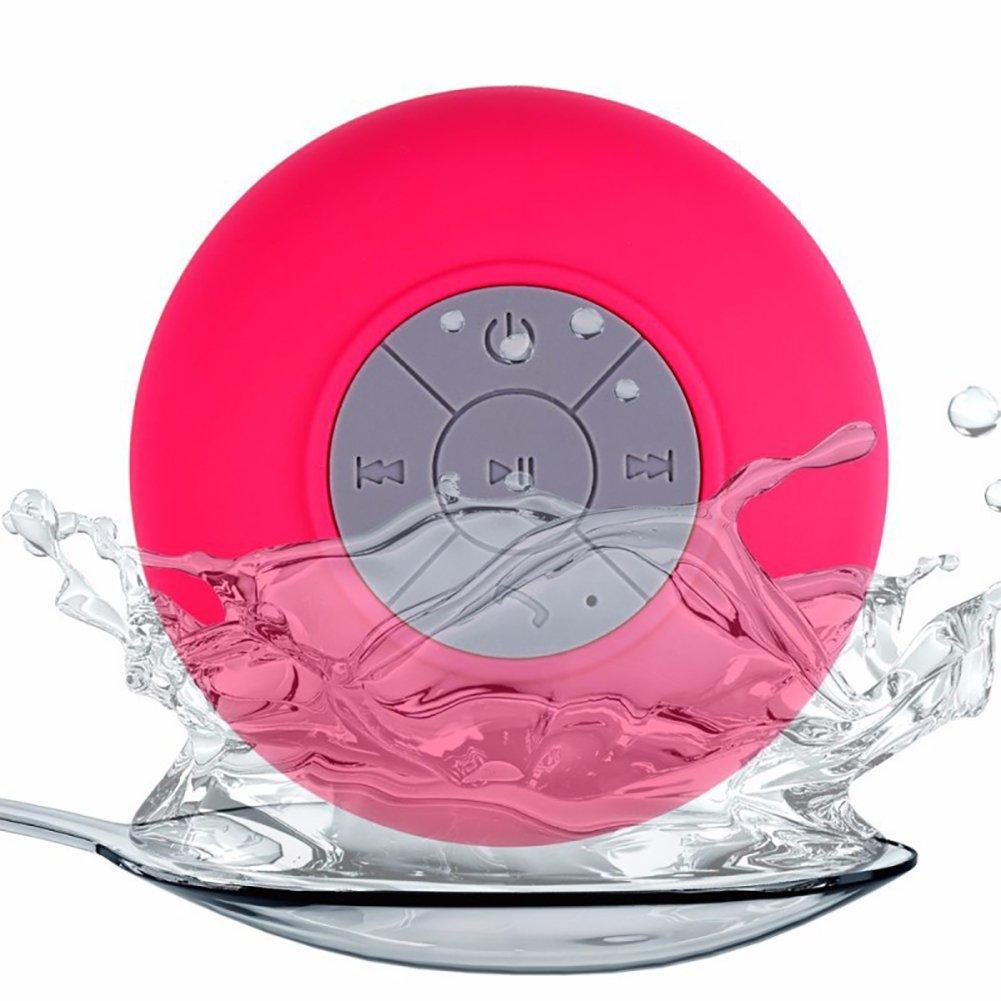 【ポイント10倍】 yanbird 防水ワイヤレスBluetoothハンズフリーマイク吸盤スピーカー バスルームシャワー用 ピンク ピンク yanbird B07H6DMJ6L B07H6DMJ6L, 荒川町:8650c8a4 --- nicolasalvioli.com