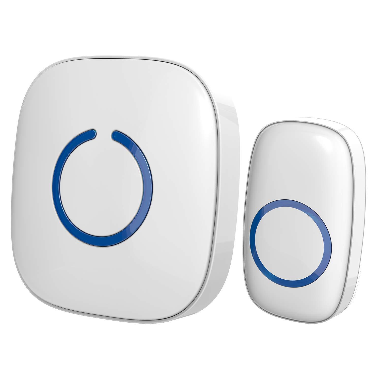 Digital Bird Doorbell Home Wireless Remote Control Music Doorbells Household Alarm With Led Indicator Jingle Bell Durable Modeling Home Improvement Doorbells