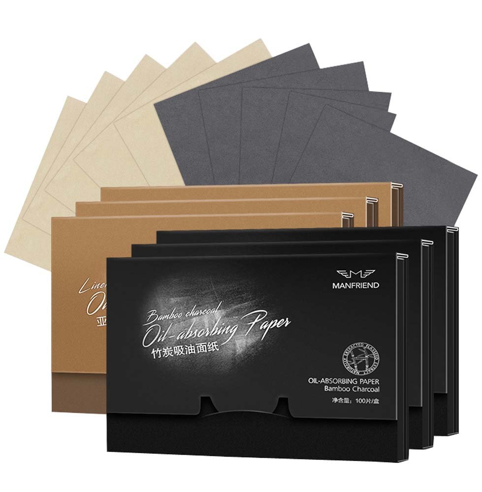 Facial Oil-absorbing Blotting Papers Absorbent Paper, 600 sheets, B