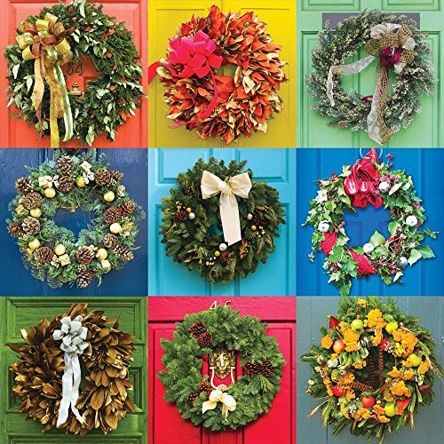 Springbok Puzzles - Wreaths - 500 Piece Jigsaw Puzzle - Large 20 Inches by 20 Inches Puzzle - Made in USA - Unique Cut Interlocking Pieces