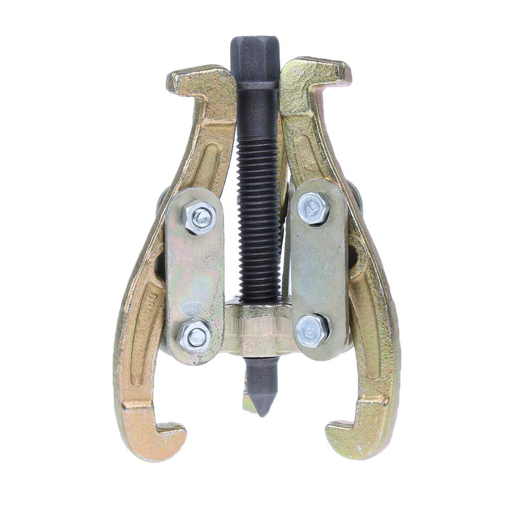 Homyl 4'' Bearing Gear 2/3 Jaw Puller Remover Drop Forged Reversible Jaws