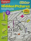 Highlights Sticker Hidden Pictures Animal Puzzles, Highlights for Children Editorial Staff, 1620917653