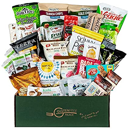 Amazon.com : SNACK ATTACK Paquete de Cuidado VEGANO - Snack ...