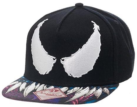 Marvel Venom Baseball Cap Hat Adjustable Sun Protector Summer Black   Amazon.co.uk  Clothing f343c688b05