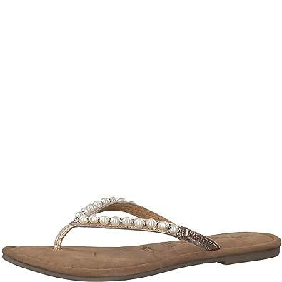 Tamaris 1 1 27141 30 Damen Zehentrenner, Sandale, Sandalette, Pantolette, Sommerschuhe für die modebewusste Frau