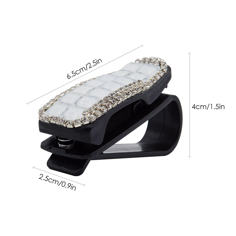 TRENDBOX Car Sun Visor Sunglasses Clip Eyeglasses Holder 1 Pack