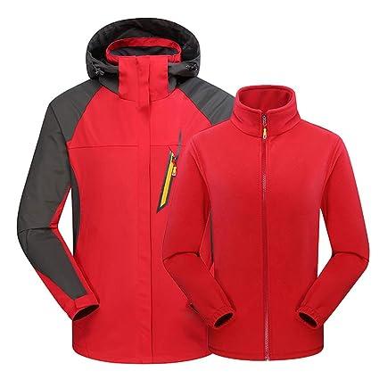 Amazon.com: certainPL Mens Ski Waterproof 3 in 1 Jacket ...