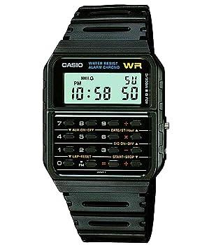 Casio Men's Vintage CA53W-1 Calculator Watch for Kids