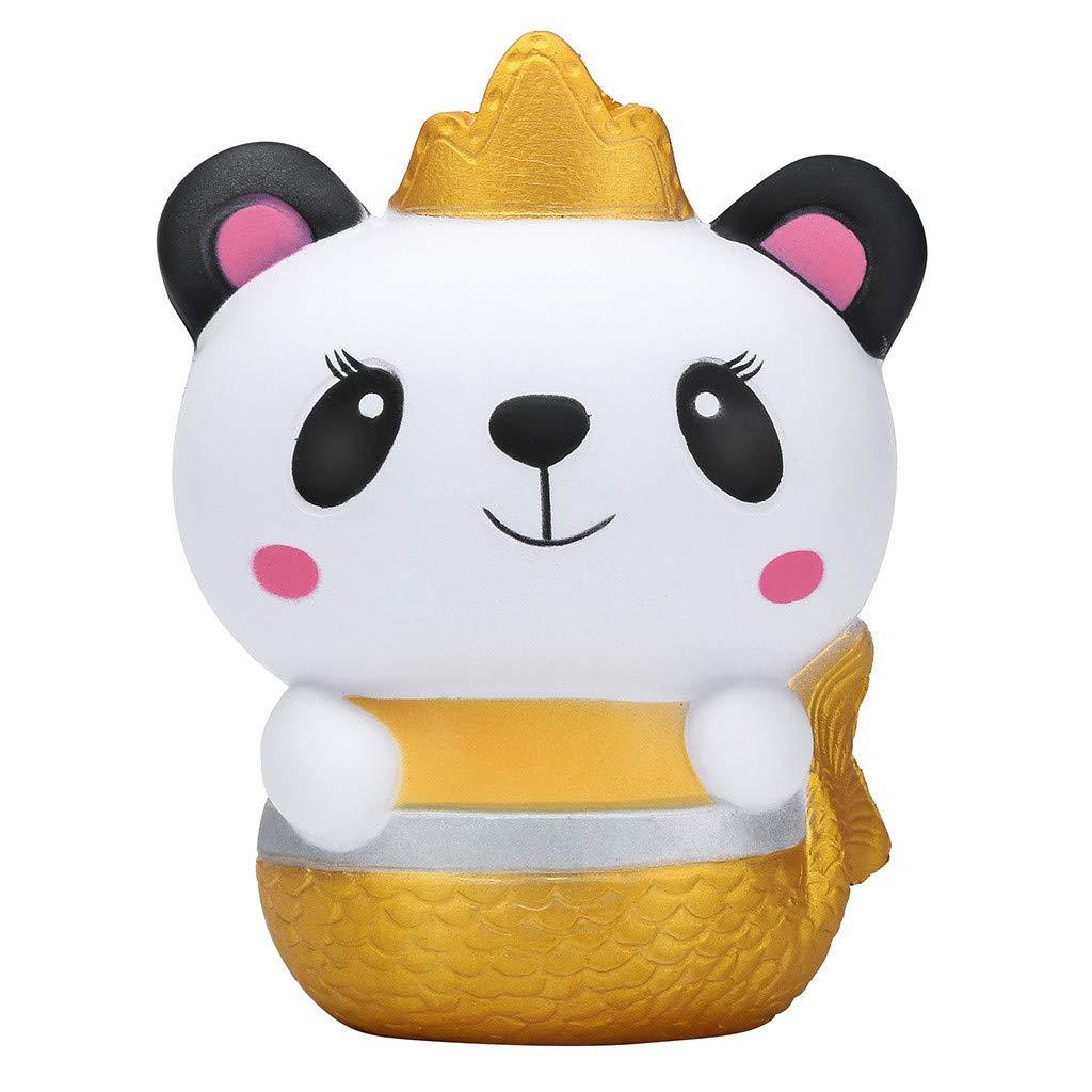 feb6fd069c42 Amazon.com: Onegirl Squishies Adorable Panda Queen & King Super Slow ...
