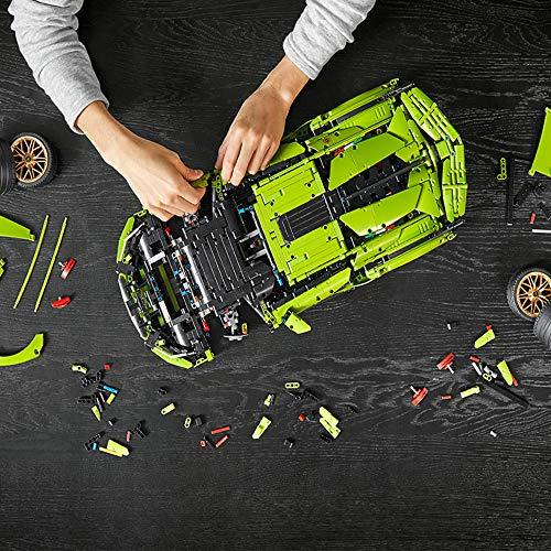 LEGO Technic Lamborghini Sián FKP 37 (42115), Building Project for Adults, Build and Display This Distinctive Model, a…