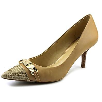 8f5e0fa034 Amazon.com   Coach Bowery Pointed-Toe Pumps Nude/Natural Shoes (6.5 ...