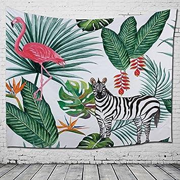 WLHW Tapices Mural Toalla de playa Mural Nórdico HD Chaleco de poliéster Decoración para el hogar ...