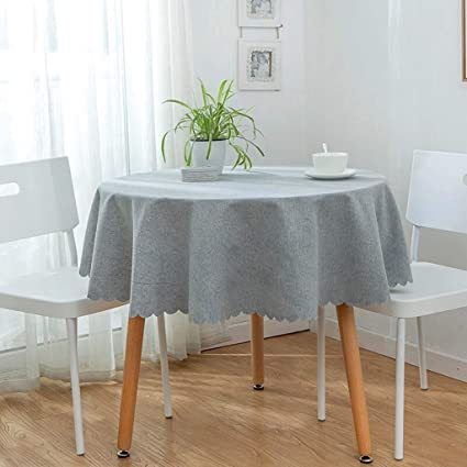 Peachy Amazon Com Baif Round Tablecloths Simple Nordic Style Beatyapartments Chair Design Images Beatyapartmentscom