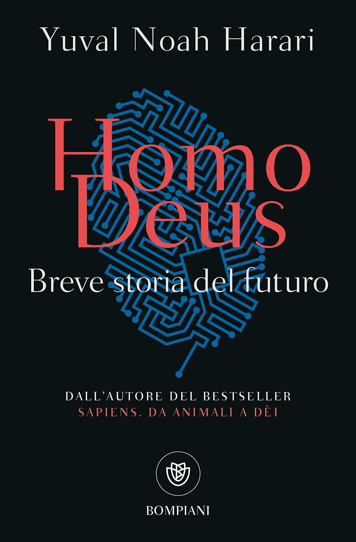 Copertina Libro Homo Deus