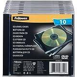 Fellowes CRC98310 Boîtier pour CD/DVD Pack de 10