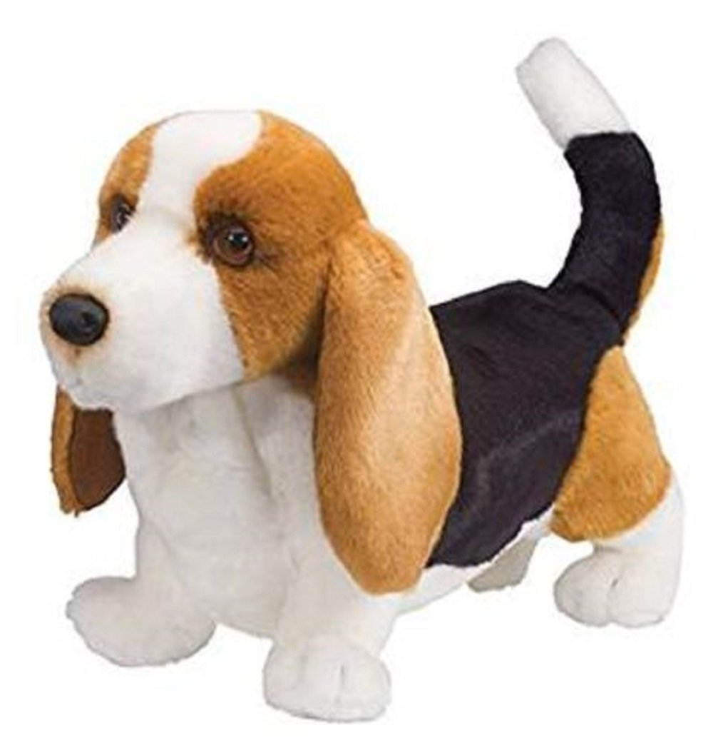 Amazon Com 16 Inch Harold Basset Hound Dog Plush Stuffed Animal By