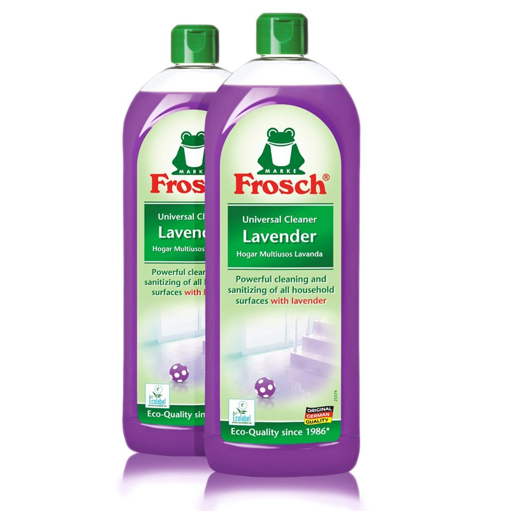 Frosch Natural Lavender Universal All Purpose Cleaner Concentrate, 750 ml (Pack of 2)