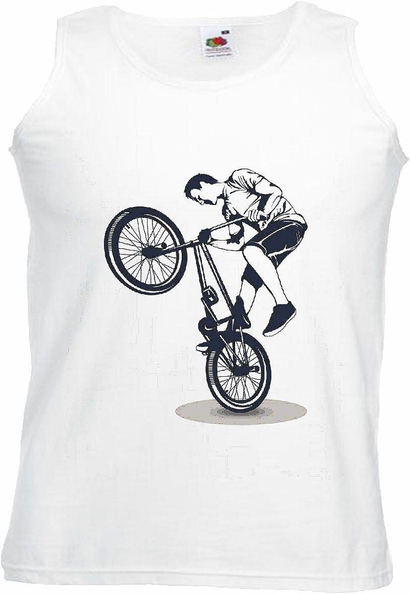 Camisa del músculo Tank Top Ciclismo DE Bicicleta BMX Freestyle ...