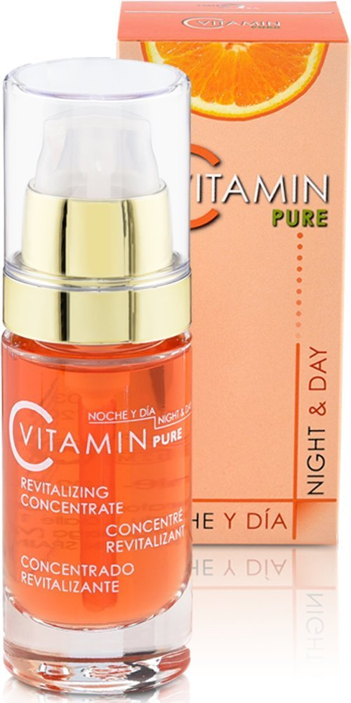 Noche Y Dia Night and Day Vitamin C Revitalizing Concentrate Serum for Face with Bitter Orange