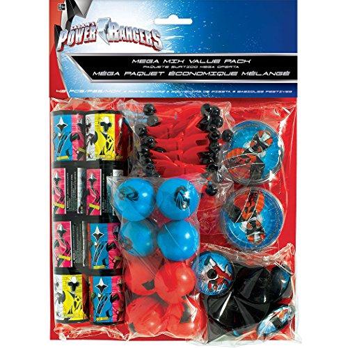 Power Rangers Megaforce Value Pack Favor Set (For 8 People) -