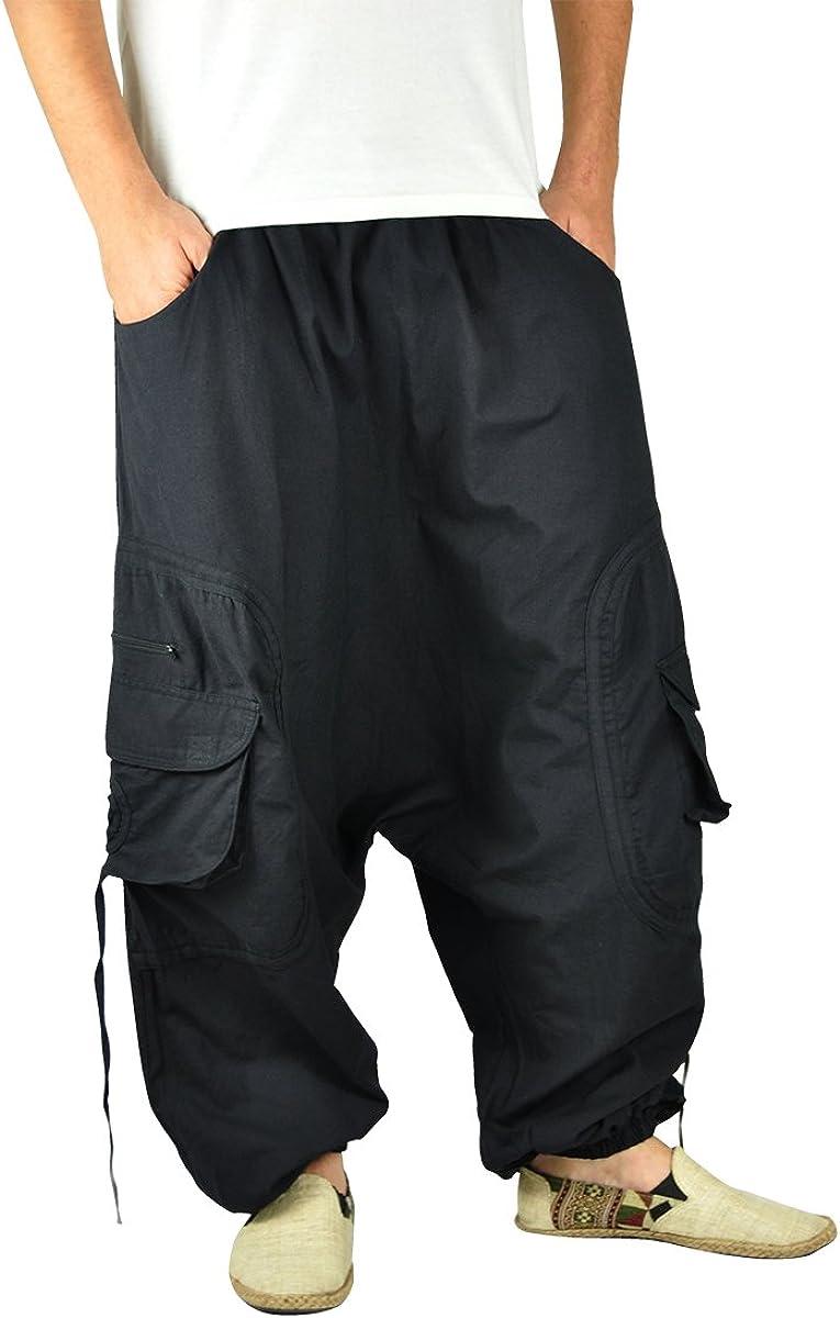 virblatt–Goa Pantalones y Pantalones Harén para Hombre Goa Ropa–Abgefahren