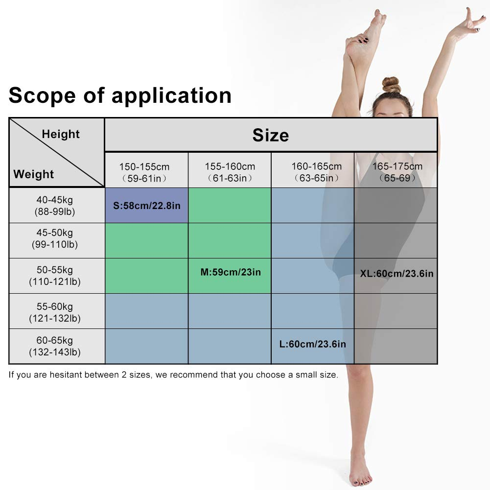 Vathery Femme Justaucorps Danse Ballet Classique Leotard Filles Gym Bodysuit sans Manches S-XL