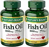 Cheap Nature's Bounty Fish Oil (Odorless) 1000 Mg, 240 Softgels (2 X 120 Count Bottles)