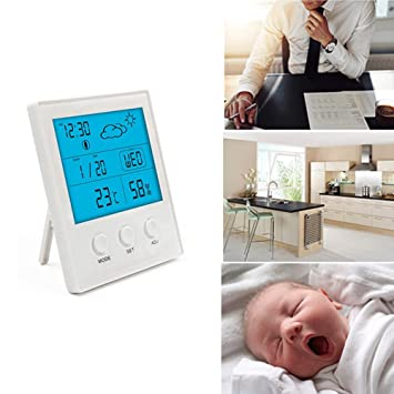 Hygrometer digital Thermometer Monitor von Temperatur und ...
