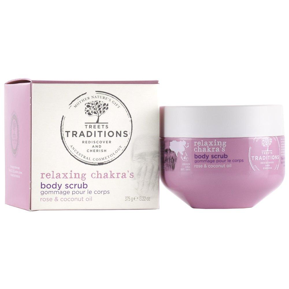 treets Traditions Relaxing Chakra 's Body Sugar Scrub, 1er Pack (1x 375g) 7030402