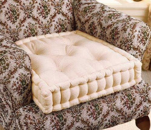 Cream Large Chair Booster Cushion - RT049