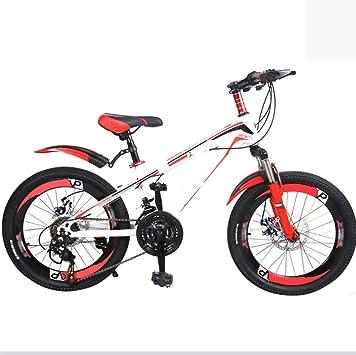 Axdwfd Infantiles Bicicletas Bicicletas para niños Rueda de Entrenamiento para Bicicletas 20 Pulgadas Niños y niñas Ciclismo Adecuado para niños de 6 a 11 años Rosa Azul Amarillo: Amazon.es: Deportes y aire libre