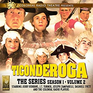 Ticonderoga the Series Audiobook