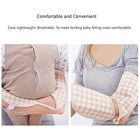 Hemore - Almohadas de lactancia para bebés, brazo de viaje, almohadas de lactancia para