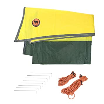 IPOTCH Hammock Rain Fly Waterproof Tent Trap C&ing Backpacking Survival Shelter Premium Lightweight for Hiking Travel  sc 1 st  Amazon UK & IPOTCH Hammock Rain Fly Waterproof Tent Trap Camping Backpacking ...