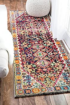 nuLOOM Traditional Vintage Vibrant Meadow Runner Area Rugs