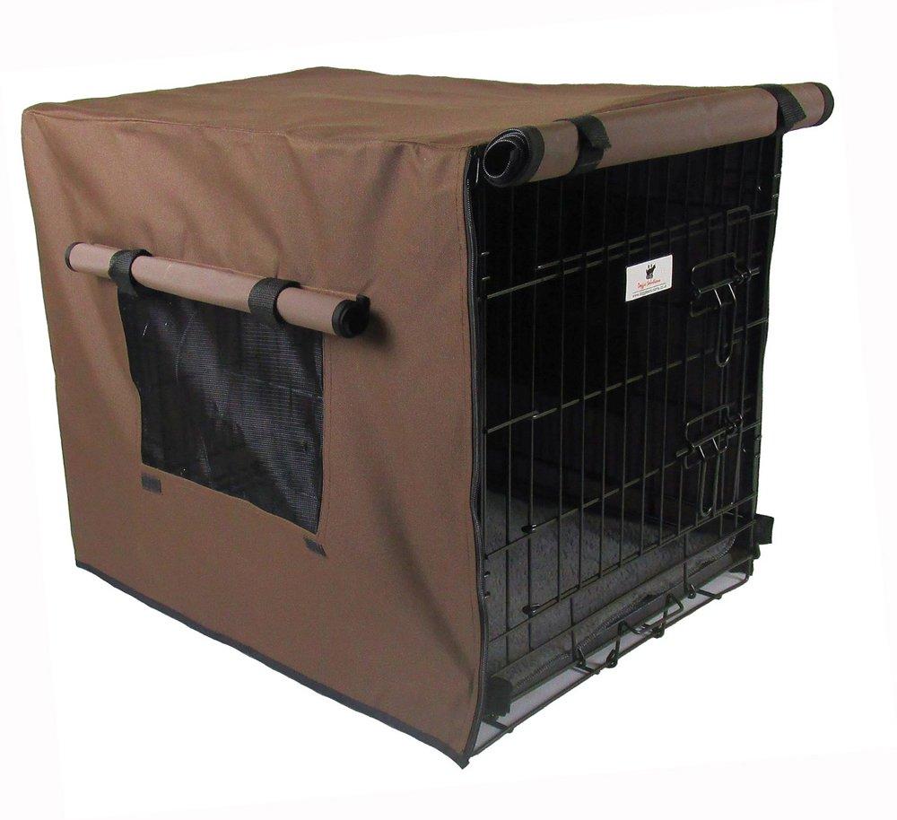 Settledown Housse de Cage pour Chien, étanche 121,9cm, bronzée Doggie Solutions WCC48BR
