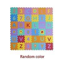 Baby Kid Educational Puzzles Foam Puzzle Alphanumeric Combination Toys Kakiyi
