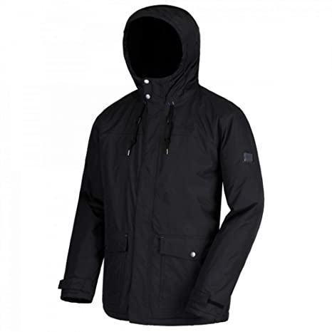 deab5eda74b Regatta Men s Syrus Waterproof Insulated Hooded Jacket  Amazon.co.uk ...