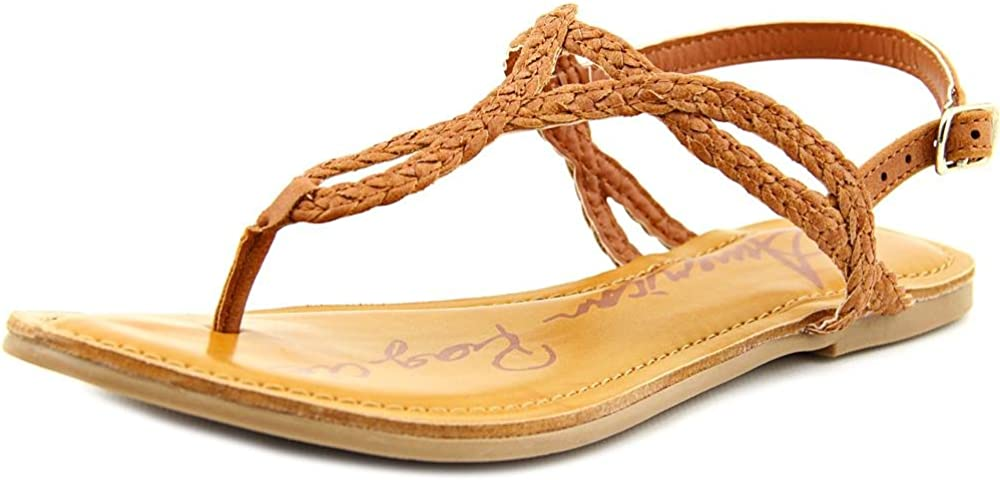 American Rag Womens Akeira Synthetic Flats T-Strap Sandals