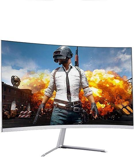 WANG XIN Led Pantalla LCD de la computadora 24 Pulgadas Monitor LCD de la computadora Curva PS4: Amazon.es: Deportes y aire libre