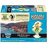: Kauai Coffee, Na Pali Coast Dark Roast, Single Serve Coffee Cups, 12 Count