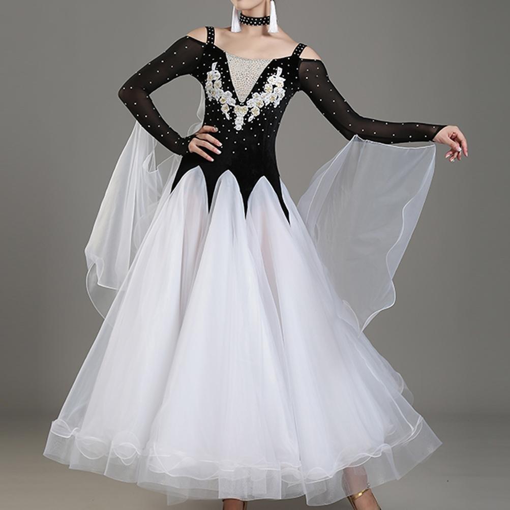MoLiYanZi Walzer Tanzen Outfit Wettbewerb Kleider Für Frauen Performance Moderne Moderne Moderne Tanzabnutzung B079G13YR3 Bekleidung Rich-pünktliche Lieferung 7ec608