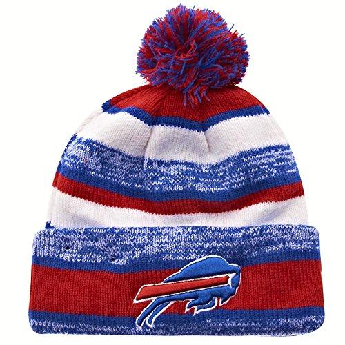New Era On field Sport Knit Buffalo Bills Game Hat Red/White/Blue Size One Size