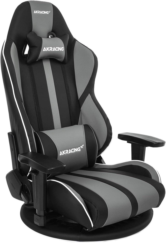 AKRacing ゲーミング座椅子 極坐(ぎょくざ)V2 灰色 Gyokuza V2 Grey AKR-GYOKUZA/V2-GREY