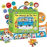 Music for Kids Puzzle avec CD The Wheels On the Bus