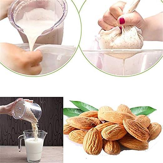 Amazon.com: 2 bolsas de leche para frutos secos de calidad ...