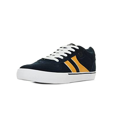 Marques Chaussure homme Globe homme Encore 2 Navy Yellow